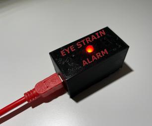 Arduino Eye Strain Alarm