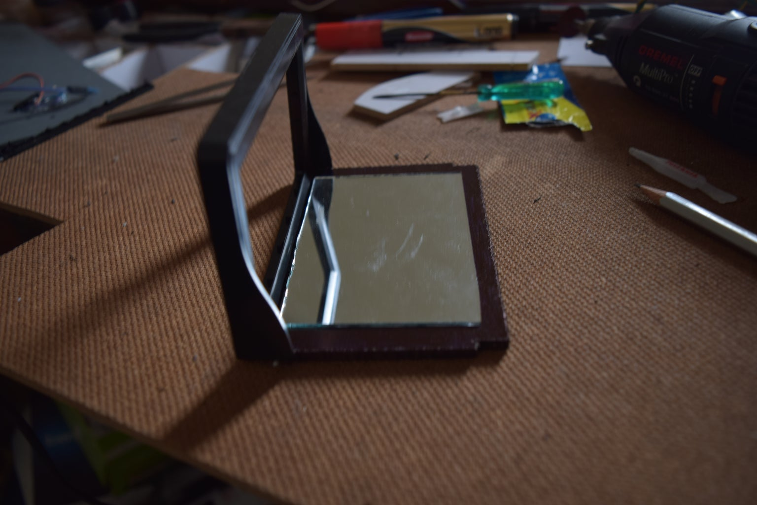 Attaching the Mirror