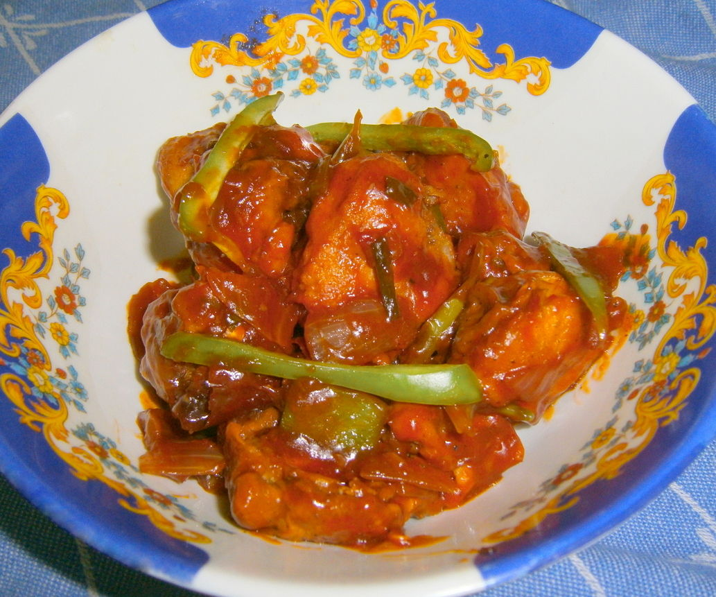 Nanking Chicken (Indo-Chinese Style)