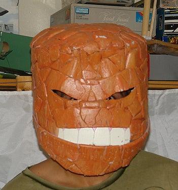 Smiling Thing Helmet From Ice Cream Bucket