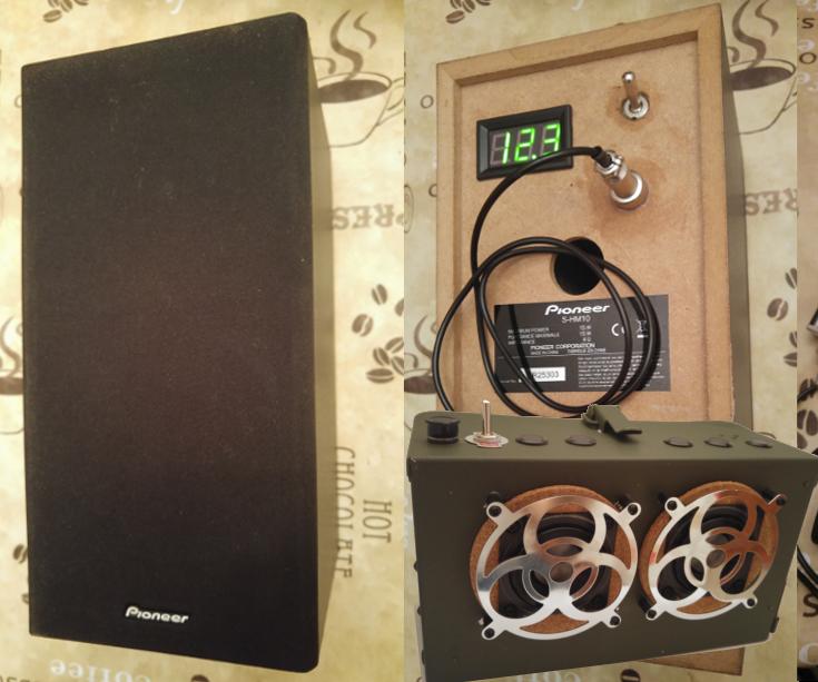 Bluetooth and Battery Upgrade on Pioneer Speaker