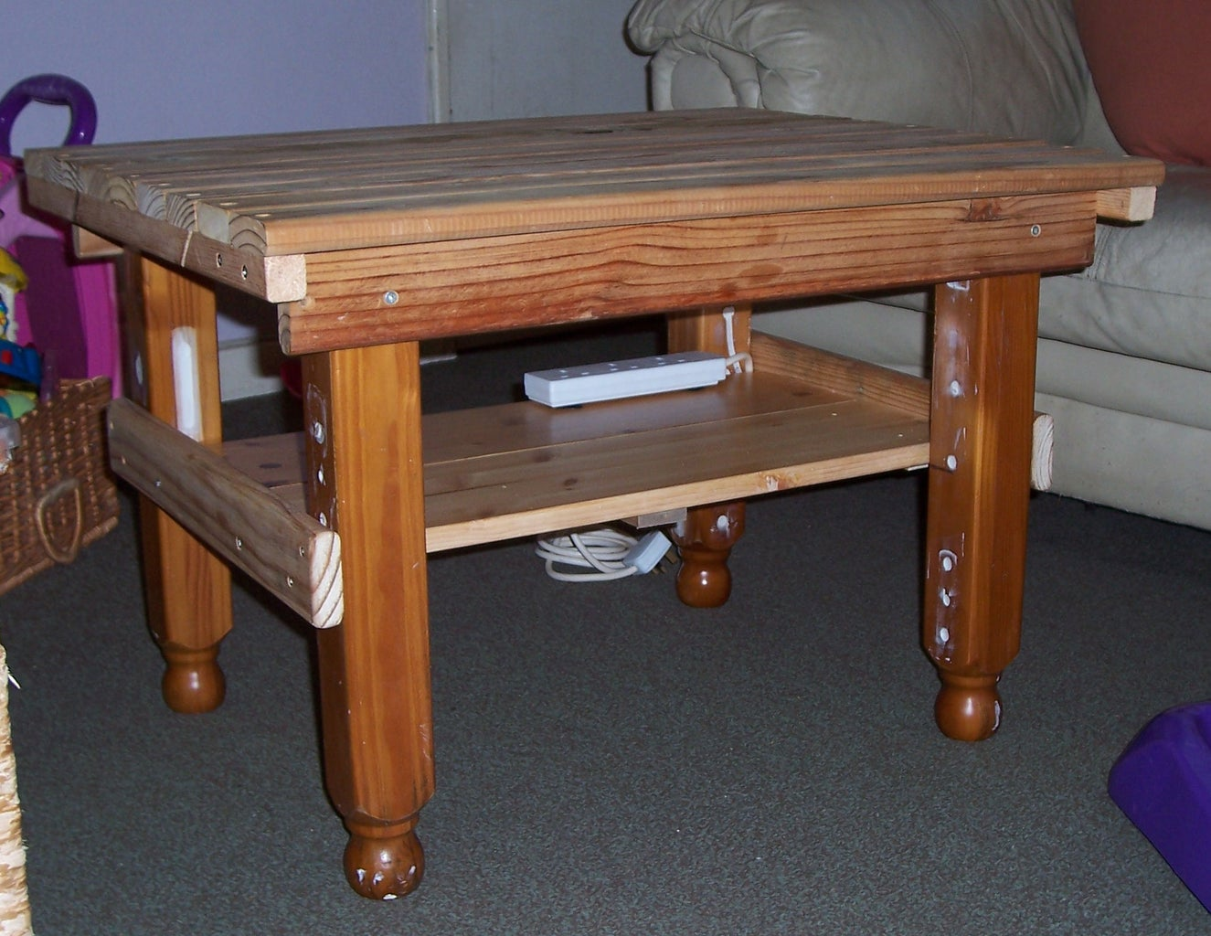 The Finished Table.