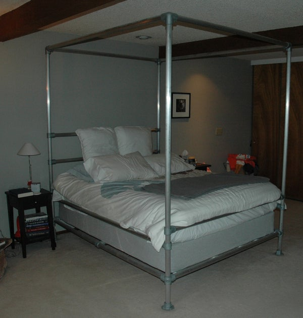 Aluminum Pipe Bed
