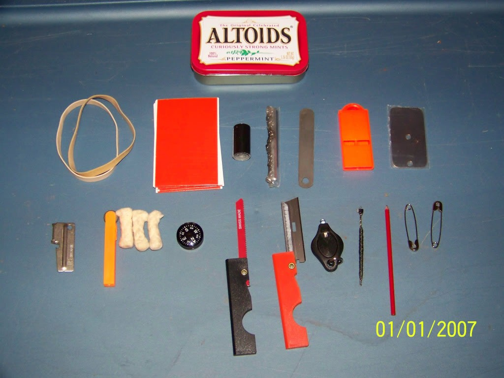 Surival Series: Basic Altoid Survival Kit