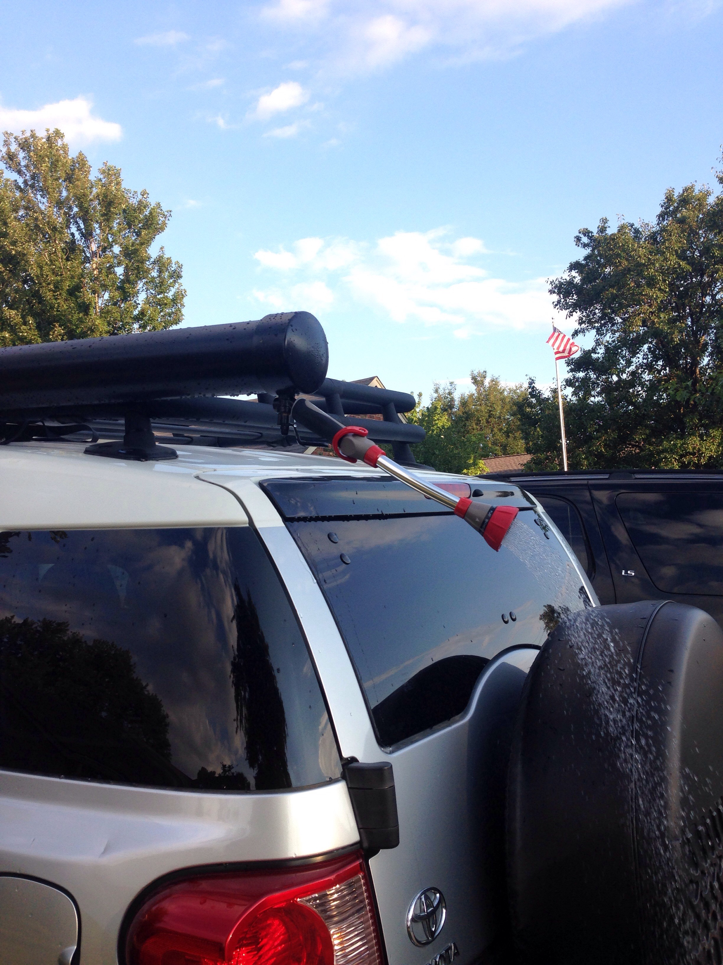 Roof Rack Shower For Outdoor Activities 14 Steps With Pictures Instructables