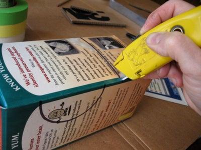 Mark and Cut the Carton