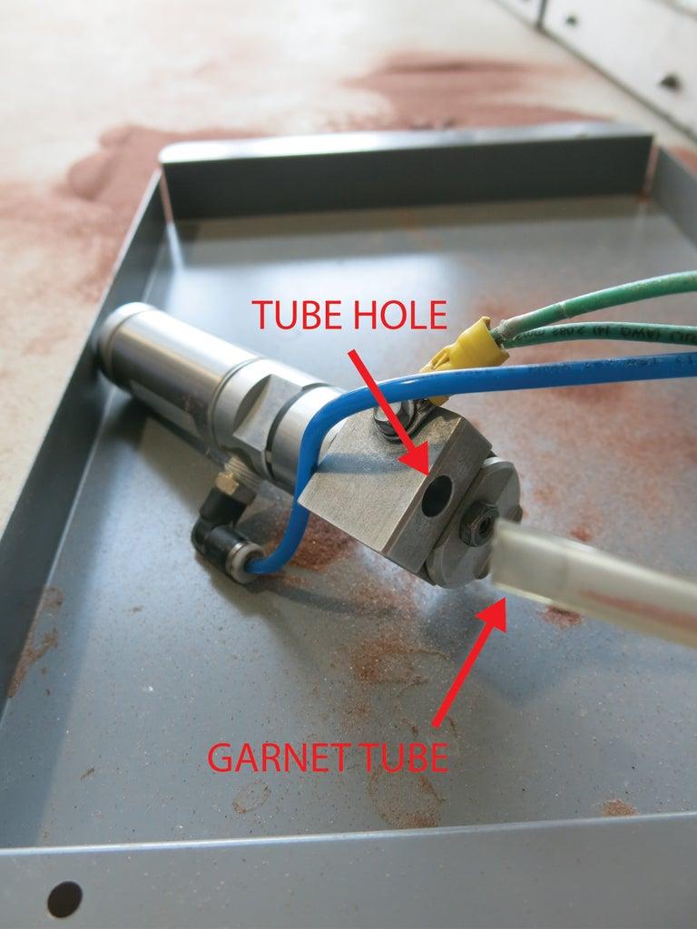 Clean the Garnet Tube