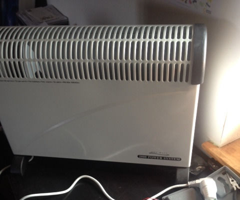 Fixing a broken thermostat on a heater with Cayenne and a Raspberry pi