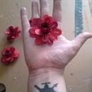 3 Dimensional Paper Flowers in 5 Easy Steps