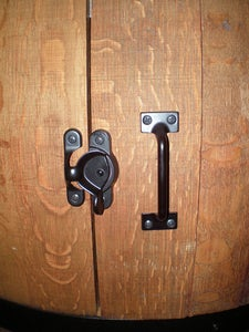 Attach the Door Hinges and Hardware