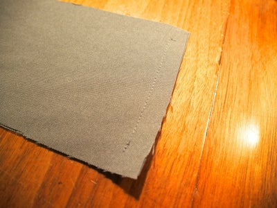 Small Cushion: Sew the Sides