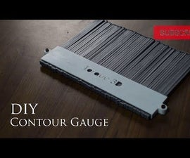 3d Printed Contour Gauge-How to Use It