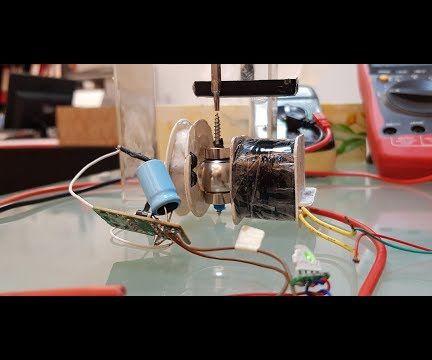 DC Generator Powered With a Single Mini Solar Panel