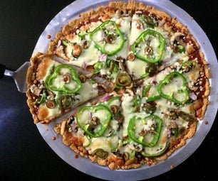多粒无酵母披萨