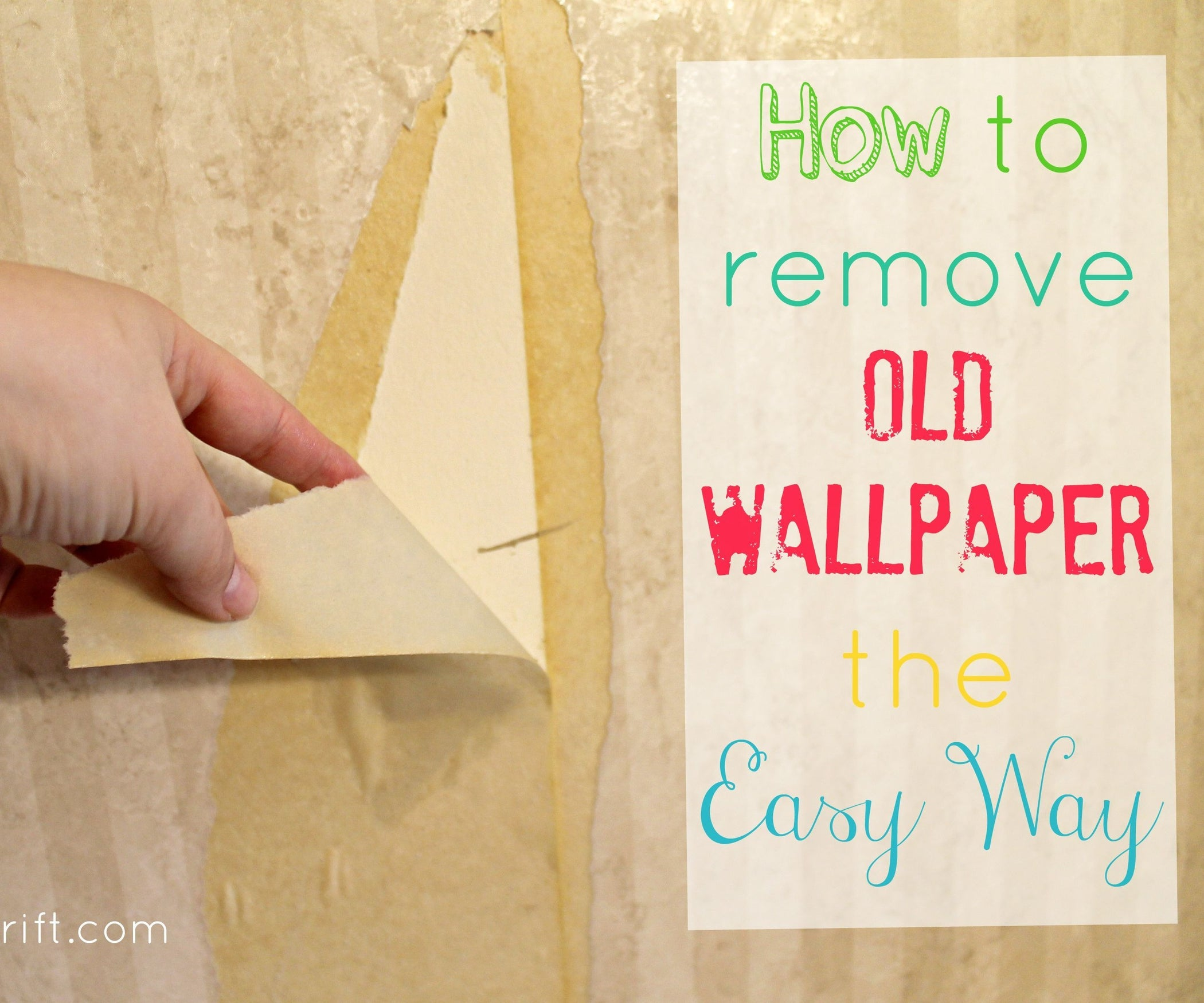 How to Remove Wallpaper the Easy Way : 5 Steps (with ...
