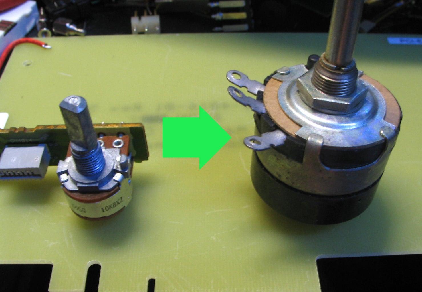 Super Simple Potentiometer Switch Hack