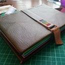 Rainbow Leather Bound Notebook
