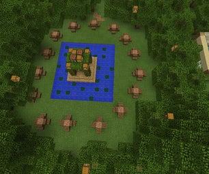 Minecraft Hunger Games Traps,secret Chests