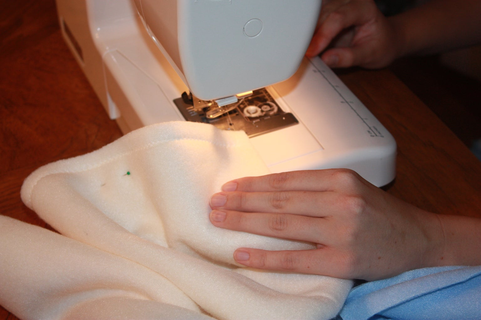 Sewing the Sleeves