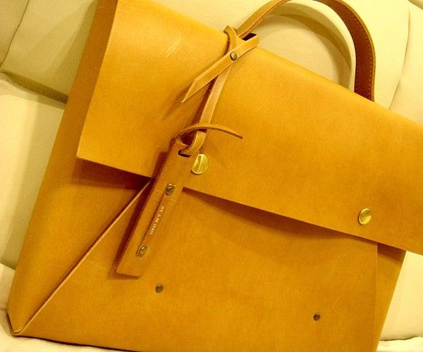 Simple Leather Briefcase