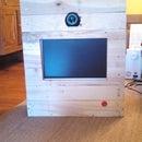 DIY Pallet photobooth.