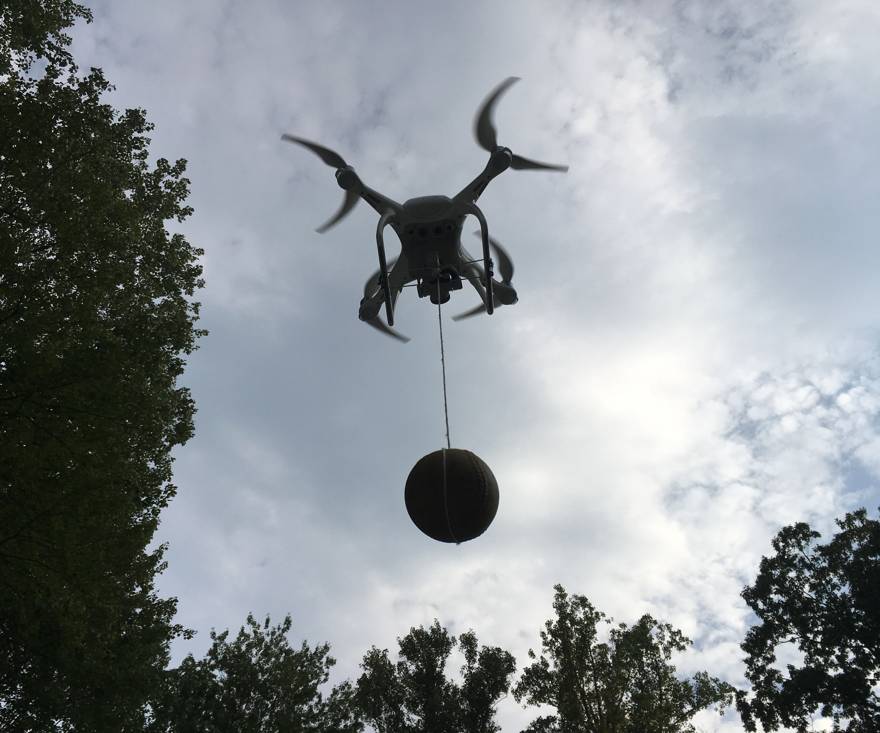 Drone payload drop system