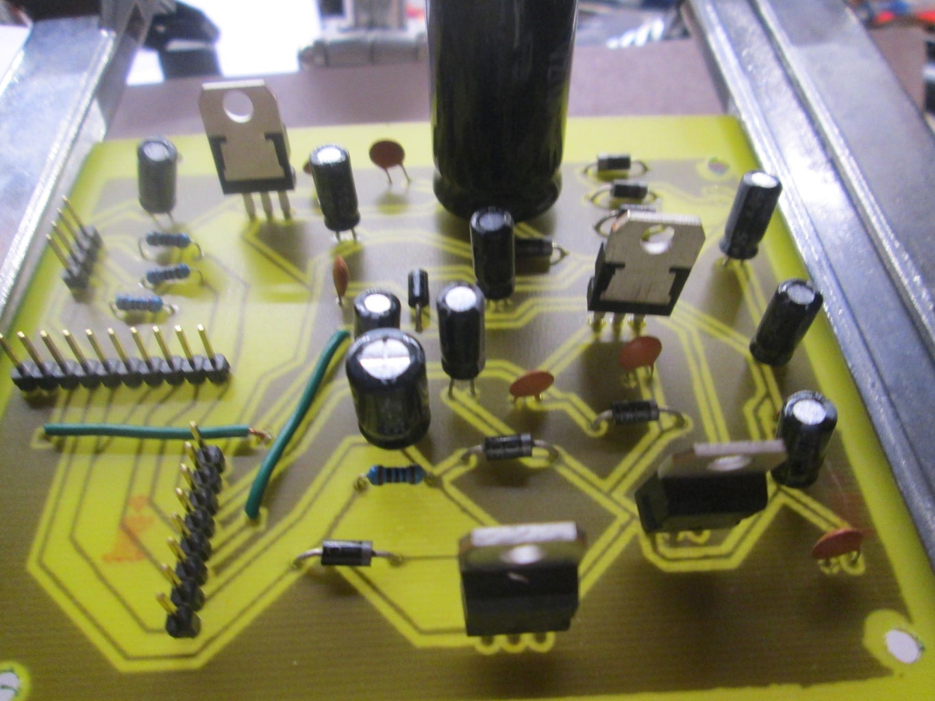 PCB and Electronic Components Installation
