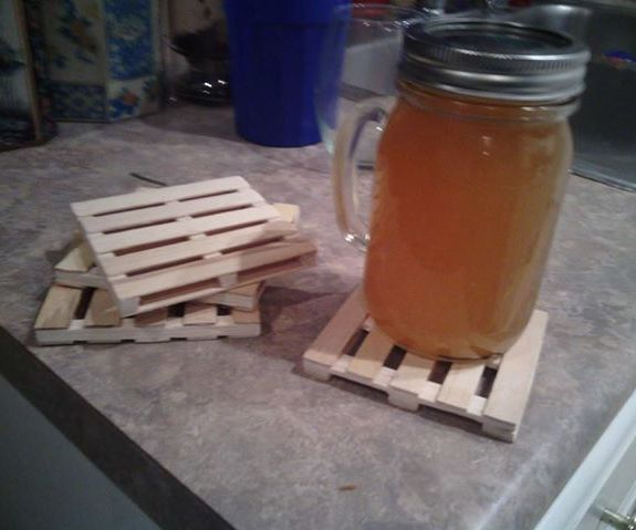 Cheap Mini Pallet Coasters!