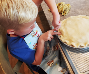 Summer Harvest Baking With Kids