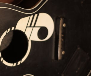 Vintage Guitar Bluetooth Speaker
