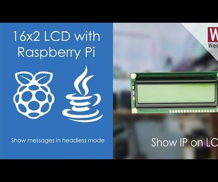 Show Messages on 16x2 LCD | Pi4J | JAVA | Raspberry Pi