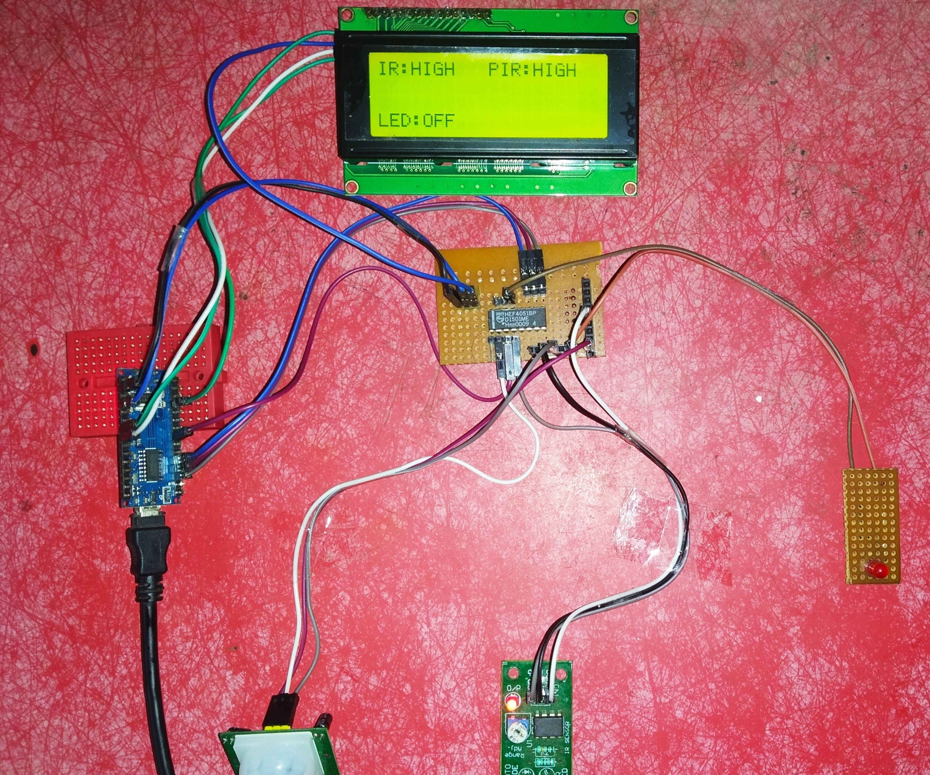 Interfacing Sensors With Arduino Using TIME DIVISION MULTIPLEXING