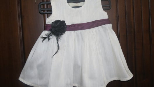 Sew a Frock for a 6 Months Old Girl....