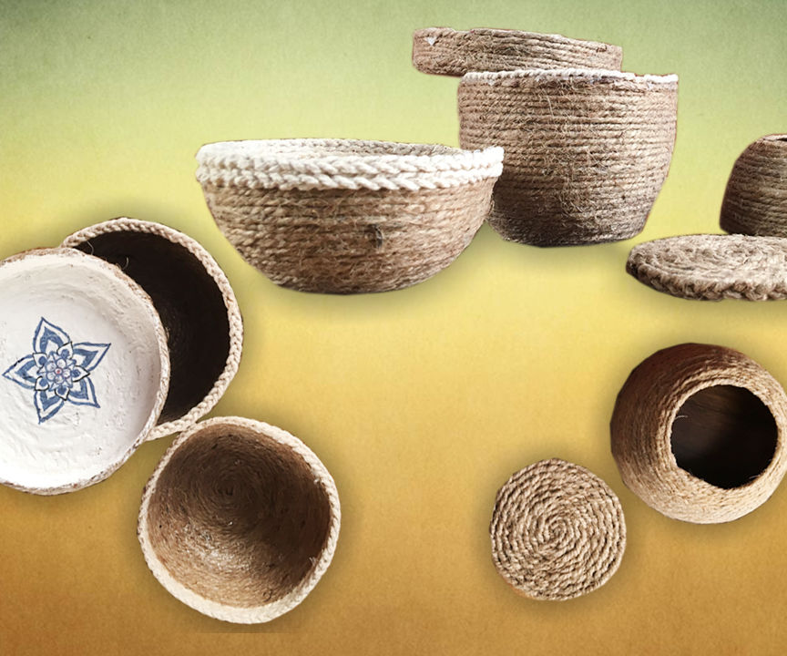 Rope Bowl DIY | How To Make DIY Rope Bowls | DIY Crafts