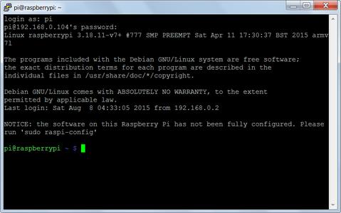 Trabajando En La Raspberry Pi