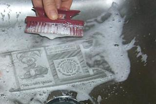 Washing Out the Stamp