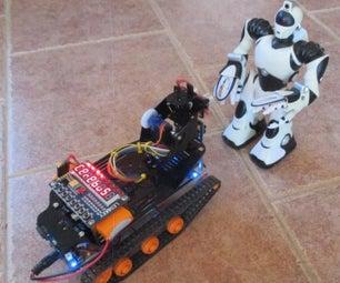 Autonomous Sentinel Arduino Vehicle