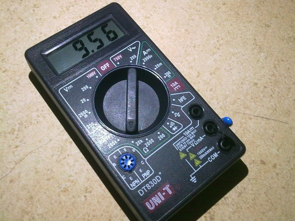 Build the Simplest Digital Thermometer!