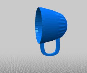 SIMPLE DESIGN: 3D PRINTABLE CUP