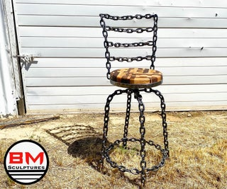 How I Made This Shop Chair Using Chain and Scrapwood
