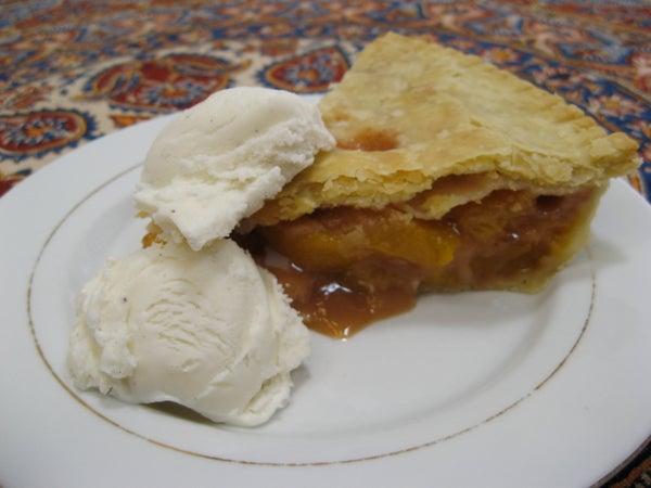 Perfect Peach Pie