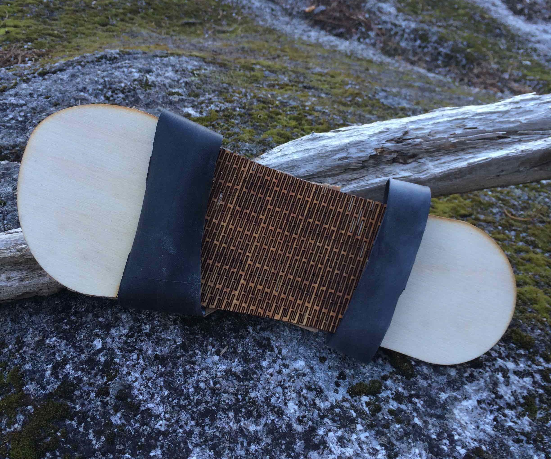 Wooden Eco Flip-flops