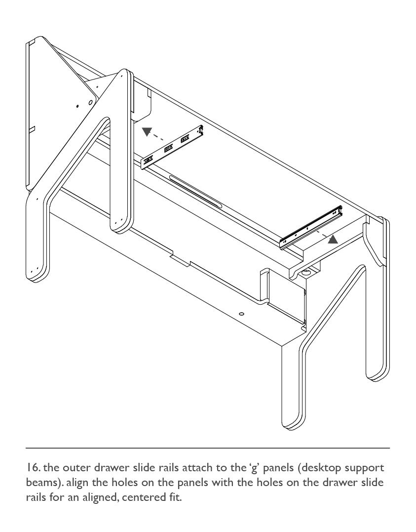 Assembly: Drawer