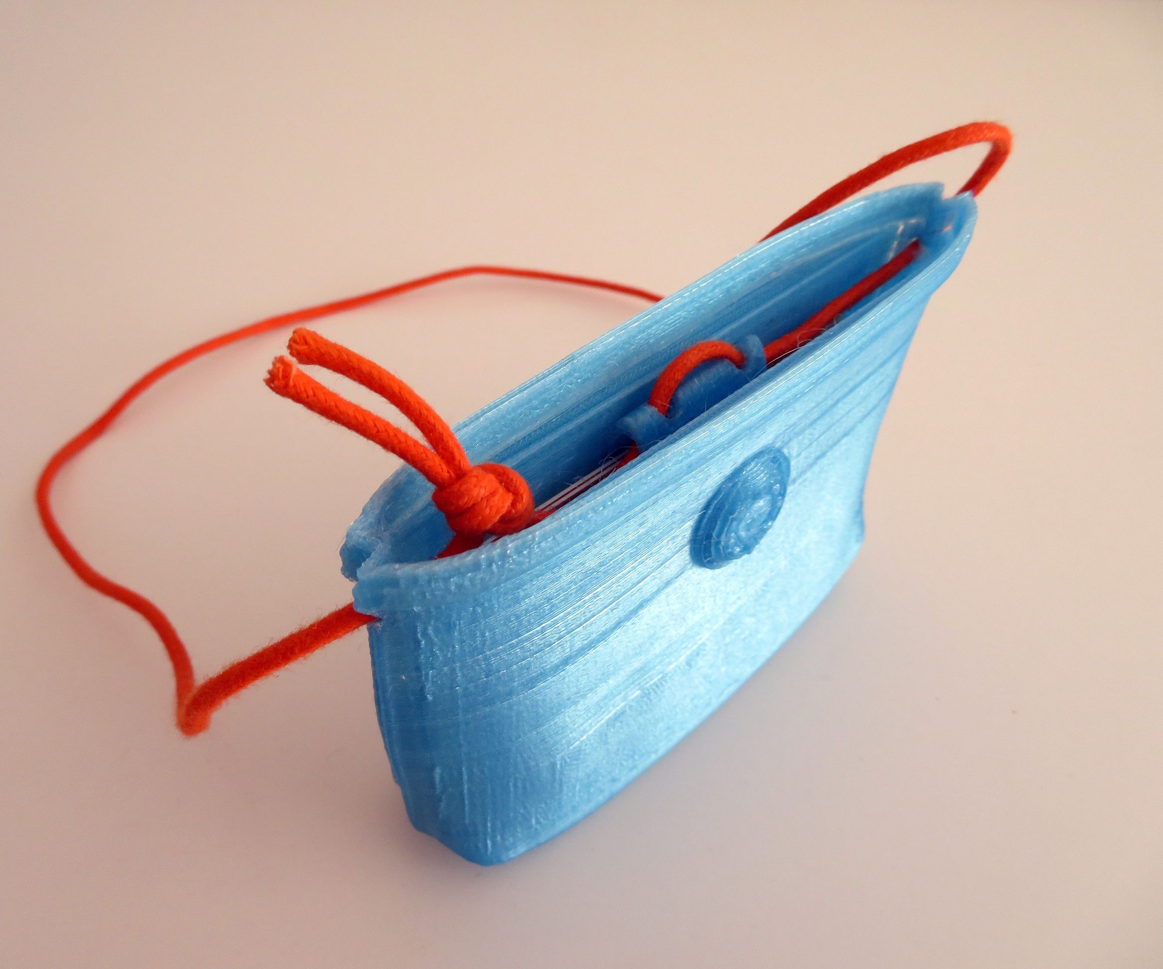 3D printable Women's Mini Bag - ID Credit Card Holder
