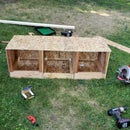 Easy Egg Collecting Exterior Nesting Box