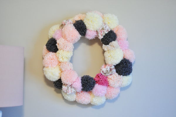 Warm Fuzzy Wreath