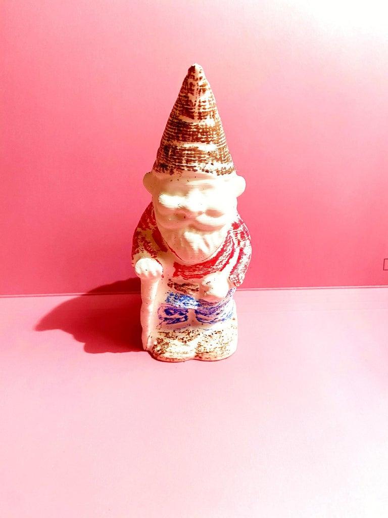 Lawn Gnome Key Holder