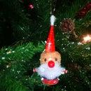 Cork Santa: Christmas Tree Ornament