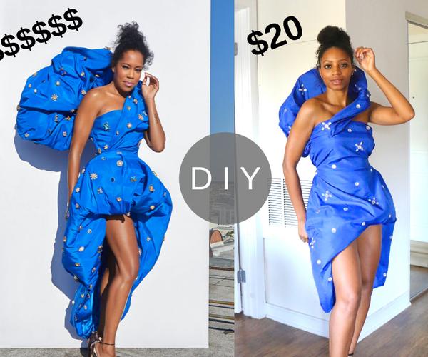 How to Make Regina King's Emmys Dress for Under $20