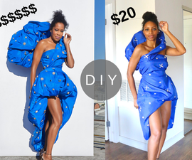 How to Make Regina King's Emmys Dress for Under $20